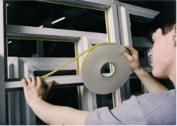 Security Glazing Foam Tape