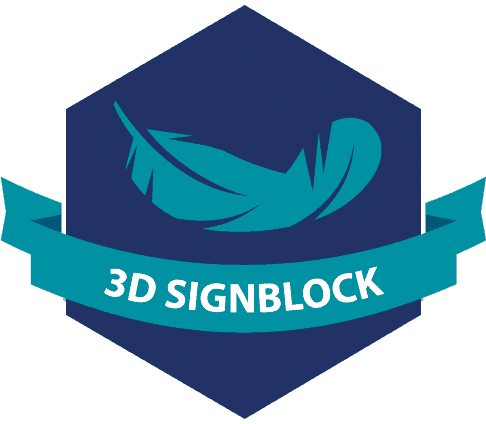 3D SignBlock