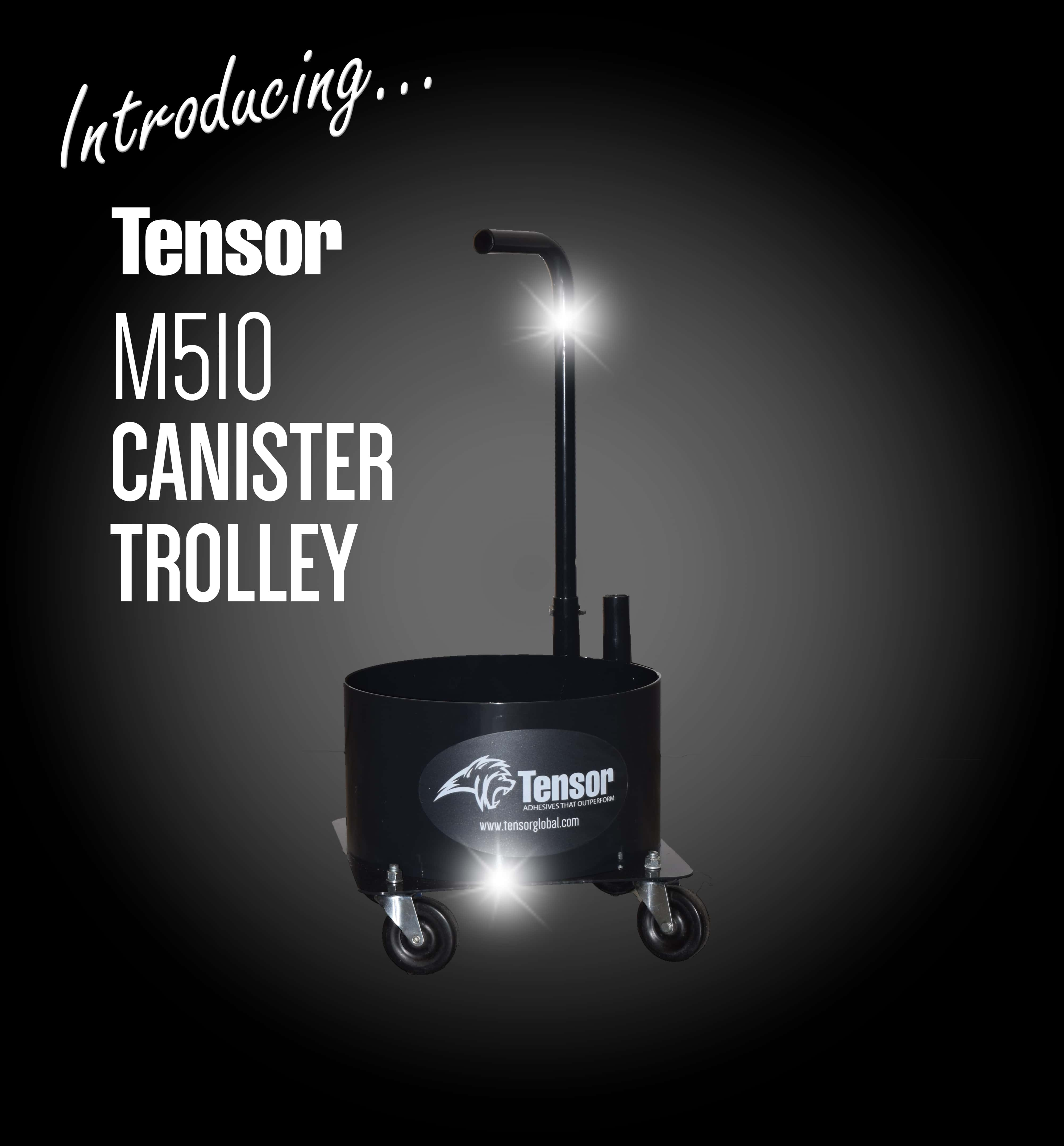 Tensor 510 Canister Trolley