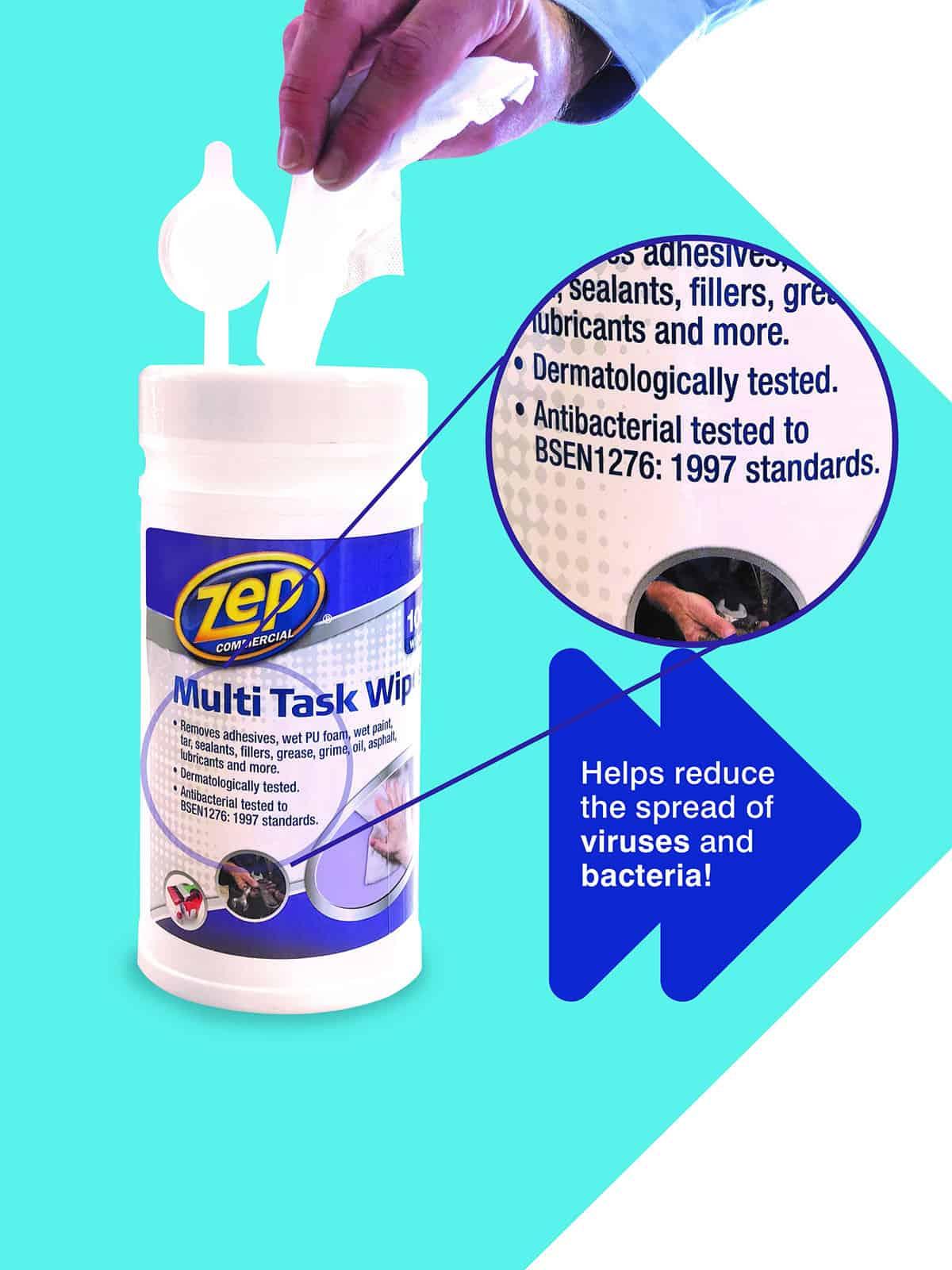 Antibacterial Wipes Multi Task