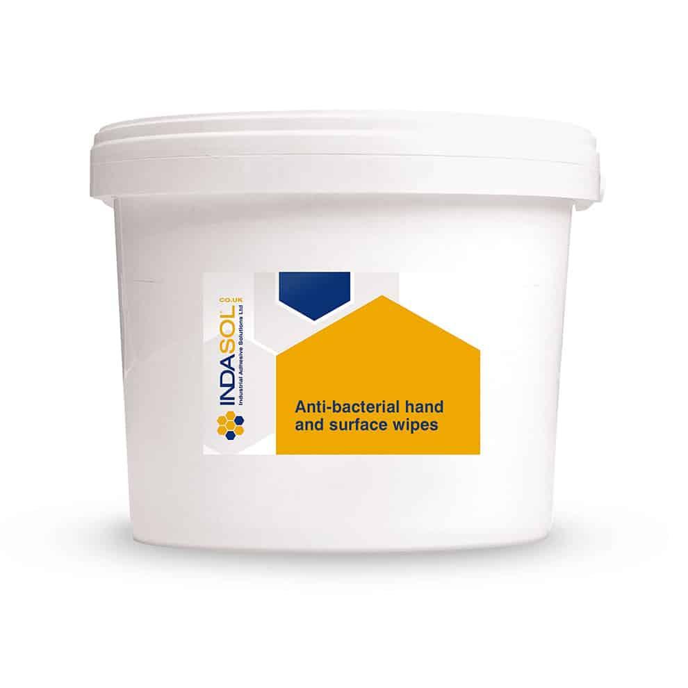 Indasol Antibacterial Wipes 300 Per Tub
