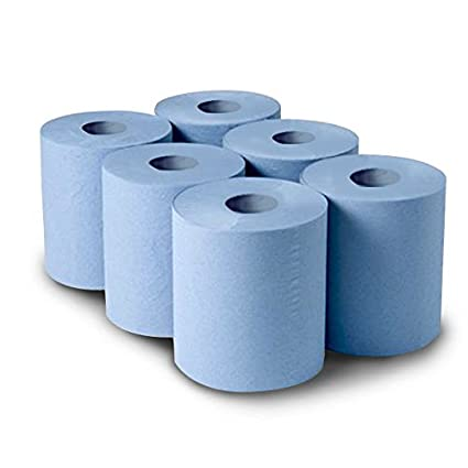 Blue 2 Ply Tissue Rolls