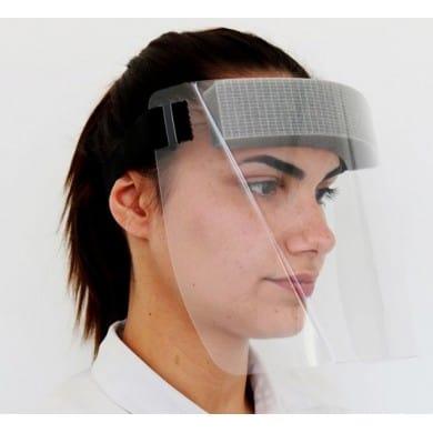 Full Face Shield With Visor