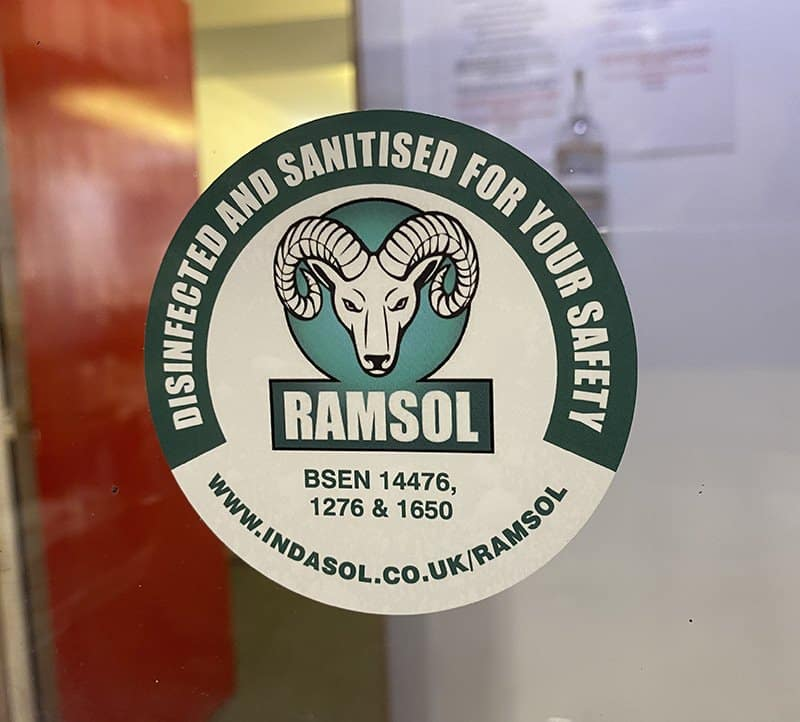 Ramsol Sticker